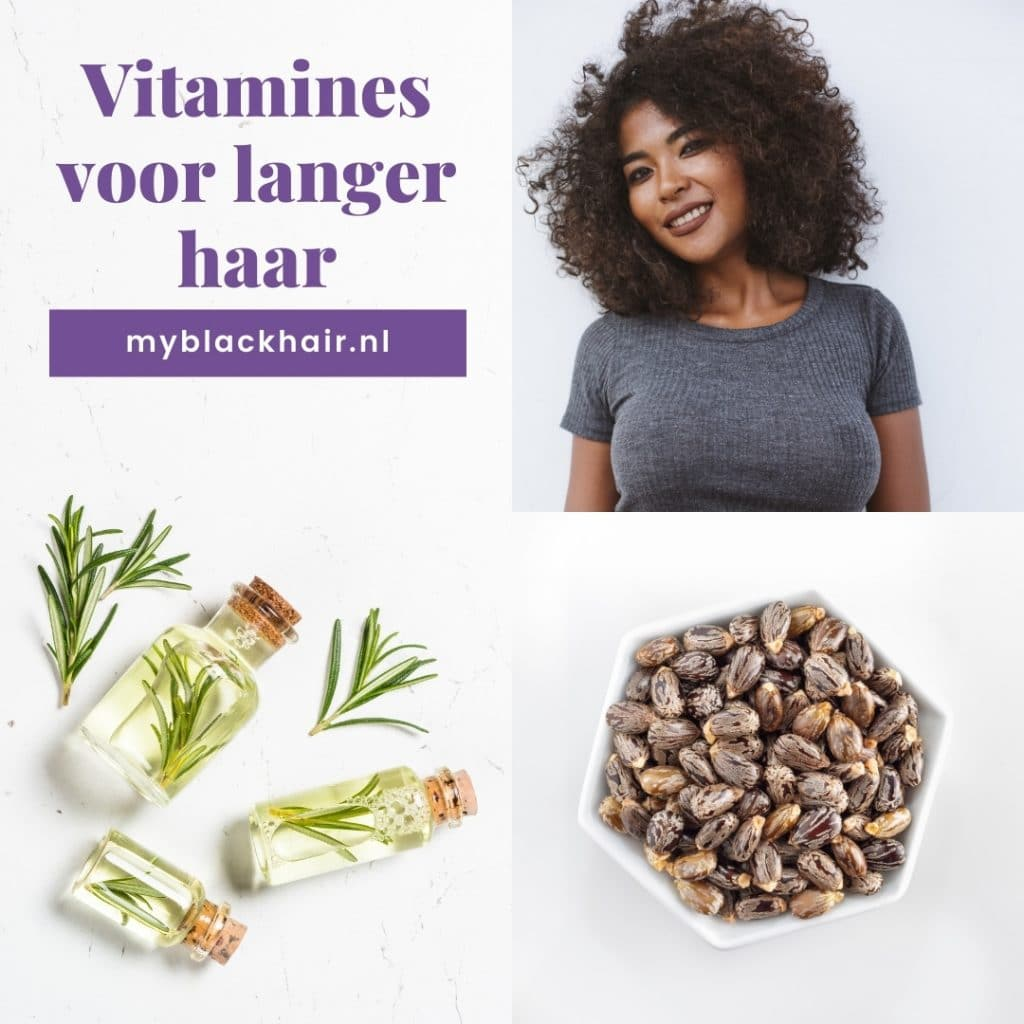 vitamines voor langer haar